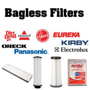 Vacuum Bagless Filters