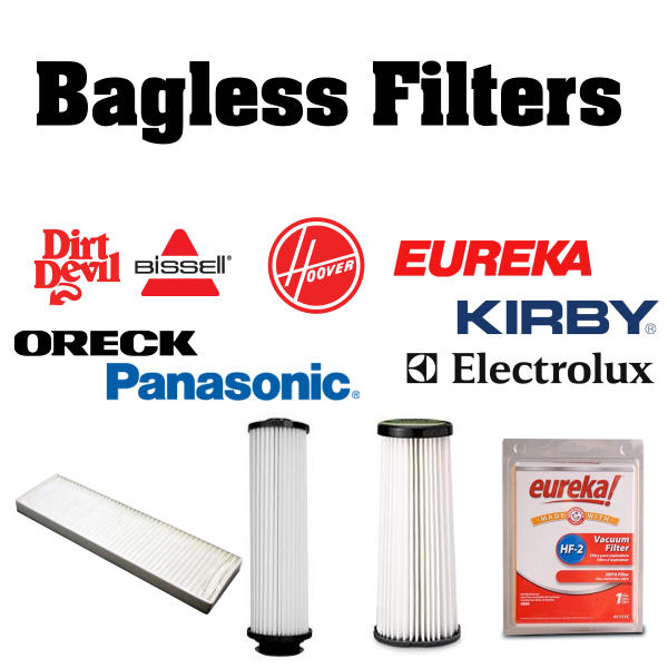 Vacuum Bagless Filters